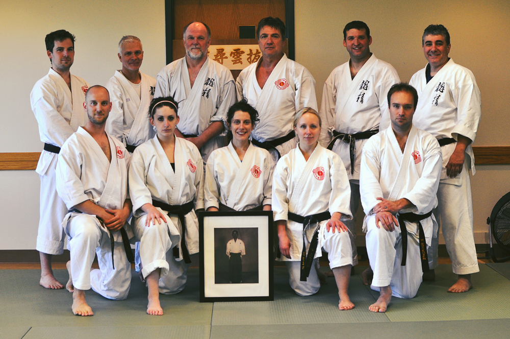 Canadian and U.S. karateka got together to train and trade ideas at a May 2013 clinic in Pittsburgh
